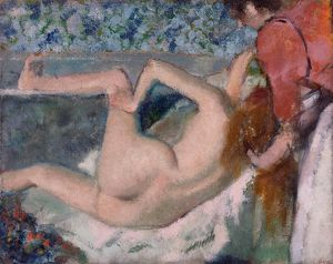 After the Bath, c.1895 (oil on canvas)