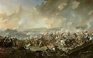 The Battle of Waterloo, 18th June 1815 (oil on canvas)