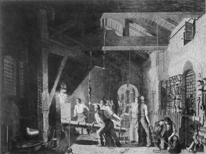 The Forge, 1859 (engraving)