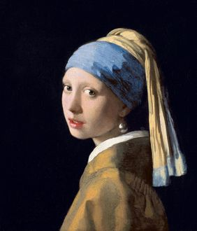 Girl with a Pearl Earring, c.1665-6 (oil on canvas)