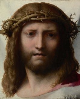 Head of Christ, c.1530 (oil on panel)