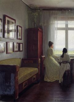 Interior, 1901 (oil on canvas)