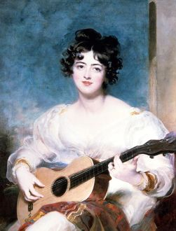 Lady Wallscourt, 1825 (oil on canvas)