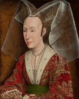 Portrait of Isabella of Portugal, c.1450 (oil on panel)