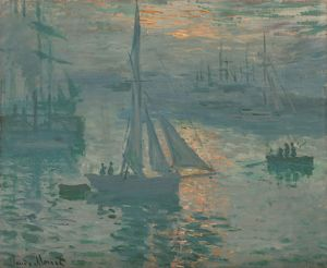 Sunrise (Marine), 1873 (oil on canvas)